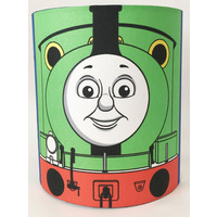 Thomas and Percy Medium Fabric Light Shade