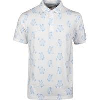 PUMA Golf Shirt - Slow Play Polo - Bright White SS20