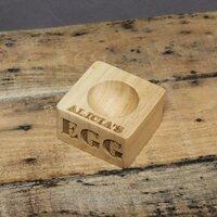 Wooden Egg Holder Roast Board