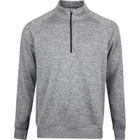 Nike Golf Pullover - NK Dry Player HZ - Black Heather SS20