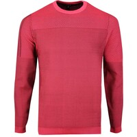adidas Golf Jumper - Sport Primeknit Crew - Flash Red SS20