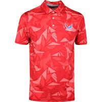 PUMA Golf Shirt - Volition Americamo Polo - Barbados Red SS20