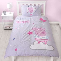 Peppa Pig Sleepy Single Duvet Cover