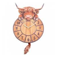 Highland Tickin Wall Clock