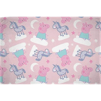 Peppa Pig and Unicorns Fleece Blanket - Stardust
