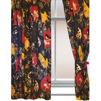 Angry Birds TNT Curtains - Black