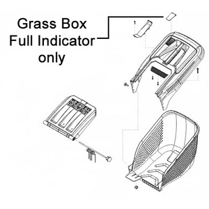 Al Ko Lawnmower Grass Box Full Indicator 46346401