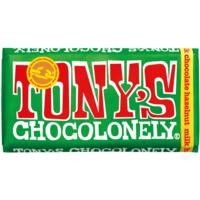 Tony's Chocolonely 32% Milk Chocolate & Hazelnut 180g