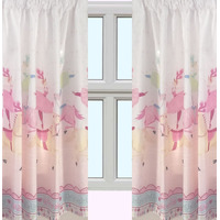 Horse and Ballerina, Girls Curtains