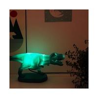 Dinosaur Lamp Turquoise Origami T-Rex