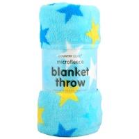 Super Soft Fleece Blanket - Stars