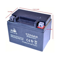 Cobra 4S Mini Dirt Bike Battery Wide