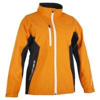 Galvin Green Junior Richie Paclite Waterproof Golf Jacket Orange