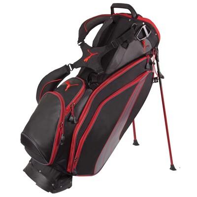 Puma Formstripe Golf Stand Bag Black-Red AW15