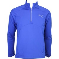 Puma Warm Storm Popover Golf Jacket Sodalite Blue AW15