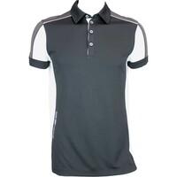 Galvin Green Manning Ventil8 Golf Shirt Black-White AW15