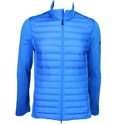 Nike Aeroloft Poly Filled Golf Jacket Photo Blue AW15
