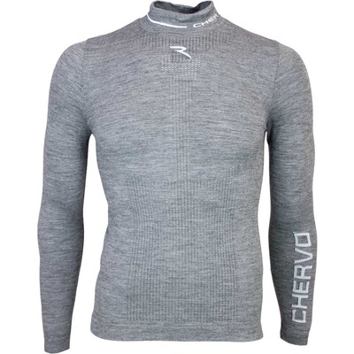 Cherv242 Timoteo Pro Therm Golf Base Layer Shirt Grey AW15