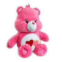 Care Bears Large Plush Love-a-lot Bear Plush Toy
