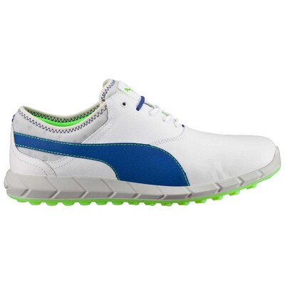 Puma Golf Shoes IGNITE Spikeless White Blue AW16