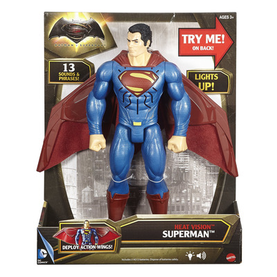 Batman V Superman 12 Deluxe Figure - Heat Vision Superman