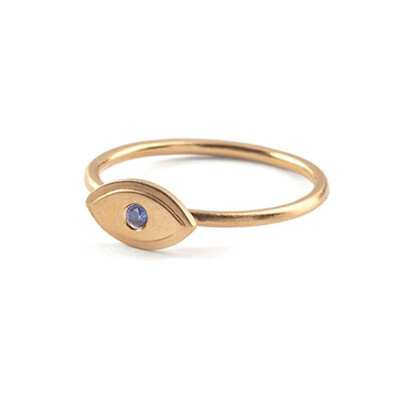 Lucky Eye Ring - Gold