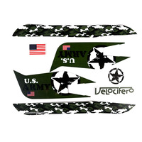 Velocifero US Army Full Sticker Set