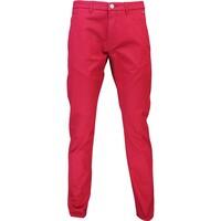 Hugo Boss Golf Chino Trousers - Leeman 3-W Rhubarb PF16
