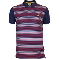 Lyle & Scott Golf Shirt - Lamberton - Navy AW16