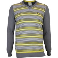 Lyle & Scott Golf Jumper - Gillean - Slate AW16