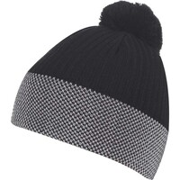 Galvin Green Golf Hat - BOBBLE Windstopper Beanie - Black AW16