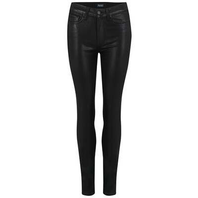 Hoxton Ankle Luxe Coating Jeans - Black Fog
