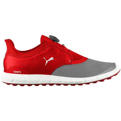 Puma Golf Shoes Ignite Spikeless Sport Disc Red 2017