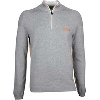 Hugo Boss Golf Jumper - Zayo MK - Grey Melange SP17