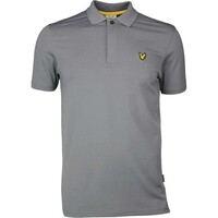 Lyle & Scott Golf Shirt - Elgin Houndstooth - Slate SS17