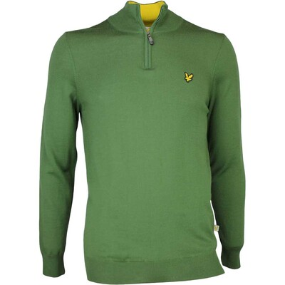 Lyle & Scott Golf Jumper - Tolmount Merino - Cedar Green SS17