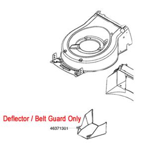 Al Ko Replacement Lawnmower Belt Guard 46371301