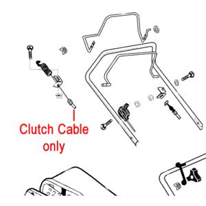 Al Ko Clutch Drive Cable 46br Ak549708