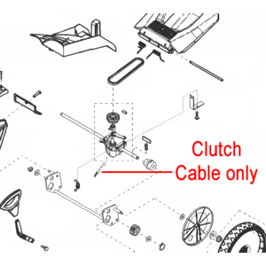 Al Ko Lawnmower Clutch Cable 453741