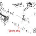 Click to view product details and reviews for Al Ko Lawnmower Gearbox Spring 441292.
