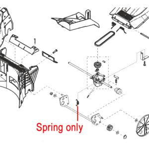 Al Ko Lawnmower Gearbox Spring 441292