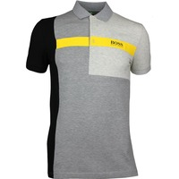 Hugo Boss Golf Shirt - Paddy Pro 1 - Grey Melange PF17