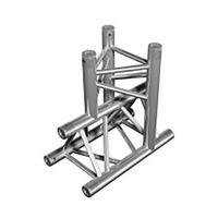 Aluminium Trussing TRIO 290 3-Way Piece 2 Vertical 1 Horizontal