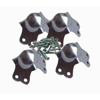 Small Ball Corner With Screws Pack Of 4