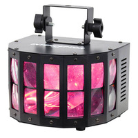 Derby LED Effect Light - 2 x 10 watt RGW LEDs