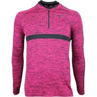 Nike Golf Pullover - NK Dry Knit SMLSS - Rush Pink AW18