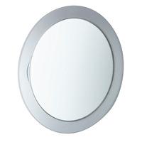 5x Stick on Suction Chrome Mirror