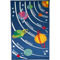 Planets, Kids Bedroom Rug 80 x 120 cm