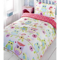 Owl and Friends, Double Duvet