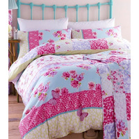 Catherine Lansfield Gypsy Patchwork Single Duvet